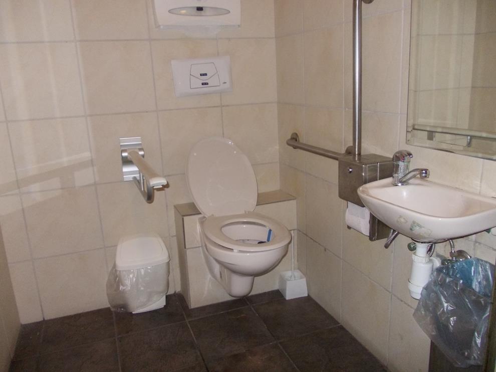 حمامات متاحة